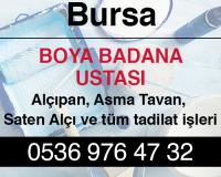 Bursa Boya Badana Firmaları