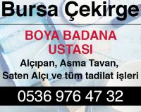 Bursa Çeki̇rge Alçıpan Ustası