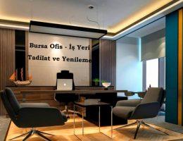 Bursa Ofis – İş Yeri Tadilatı ve Yenileme