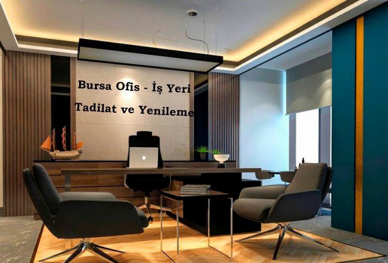bursa ofis tadilatı