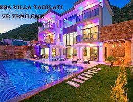 Bursa Villa Tadilatı ve Yenileme