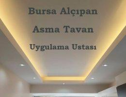 Bursa Alçıpan, Asma Tavan Uygulama Ustası