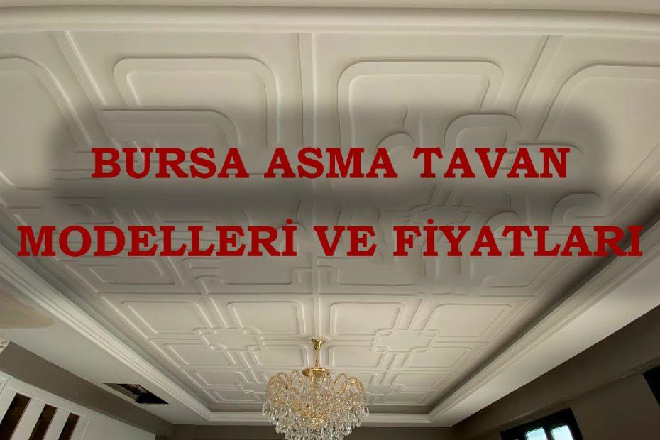 Bursa asma tavan firmaları